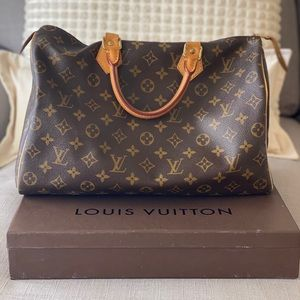 Authentic Louis Vuitton Speedy 35 Hand Bag
